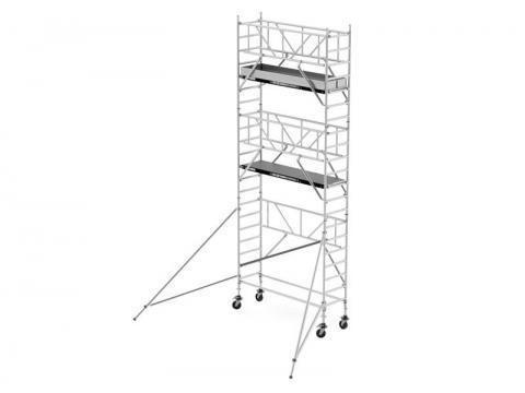 Andamio aluminio 14,20 m altura de trabajo