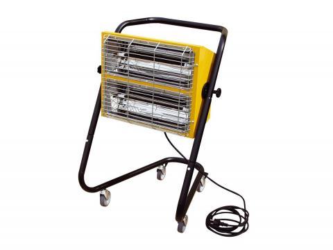 Calentador eléctrico por infrarrojos onda corta