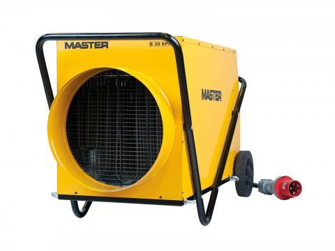 Calentador eléctrico trifásico industrial