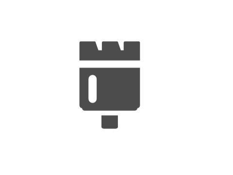 Arandela separador corona perforadora