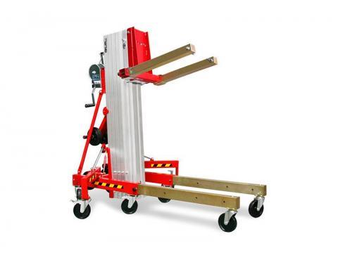 Elevador manual de materiales