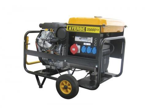 Generador no insonorizado 20-24 kVA