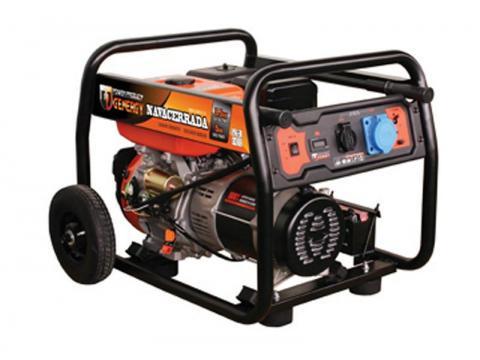 Generador no insonorizado de 4000W a 6000W