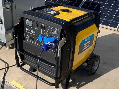 Generador insonorizado inverter 6000w