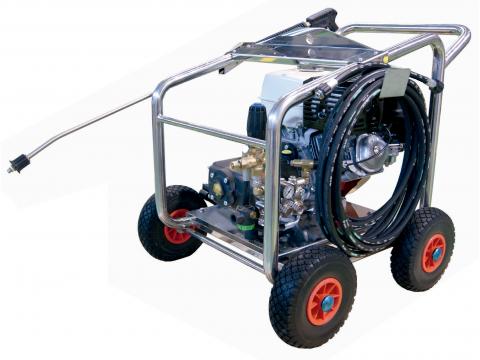 Hidrolimpiadora gasolina alta presión 250 bares