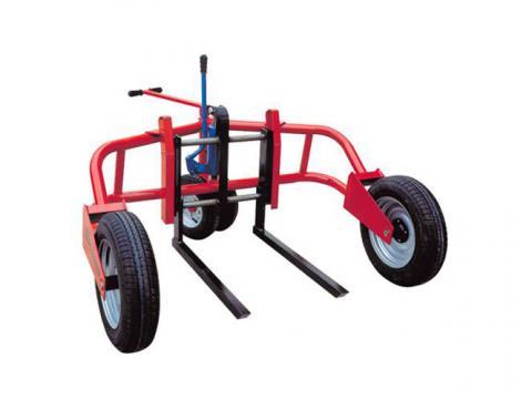 Transpaleta ruedas neumáticas 1.500 kg