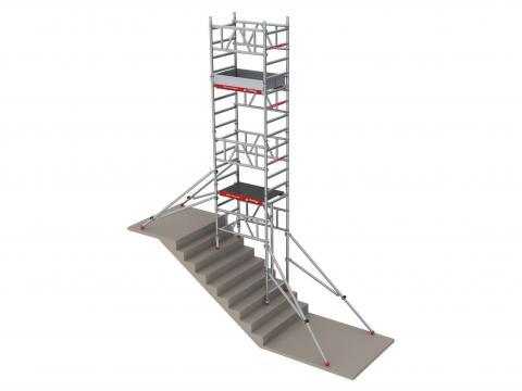 Implemento para escalera MiTower