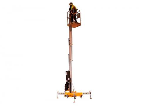 Plataforma elevadora unipersonal plegable 9m