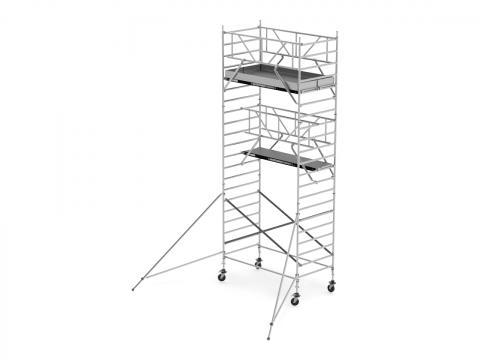 Andamio aluminio 6,20 m ancho 1,50 m