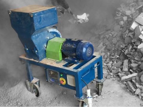 Trituradora de escombros